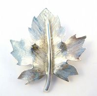 Vintage D'Orlan Maple Leaf Brooch.